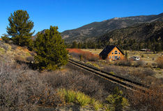 Colorado Country. Rural living in the mountains of Western Colorado stock photo