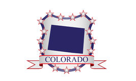 Colorado crest Royalty Free Stock Photography