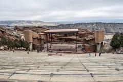 Colorado Denver Red Rock Amphitheatre fotos de stock