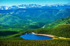 Colorado Echo Lake Royalty-vrije Stock Foto