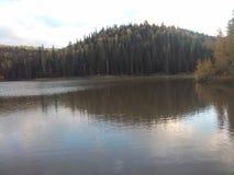 Colorado ein versteckter See Lizenzfreie Stockfotos