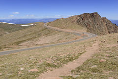 Colorado 14er, lucci alza, Front Range, Colorado Fotografie Stock
