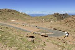 Colorado 14er, pikar når en höjdpunkt, Front Range, Colorado Royaltyfri Fotografi