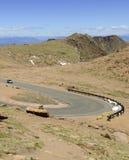 Colorado 14er, pikar når en höjdpunkt, Front Range, Colorado Royaltyfria Foton