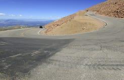 Colorado 14er, pikar når en höjdpunkt, Front Range, Colorado Royaltyfria Bilder
