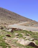 Colorado 14er, pikar når en höjdpunkt, Front Range, Colorado Arkivfoto