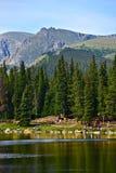 Colorado escénico Echo Lake imagen de archivo