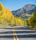Colorado escénico en otoño temprano imagen de archivo