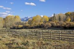 Colorado in Fall Royalty Free Stock Photos
