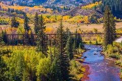 Colorado Fall Foliage Stock Photography