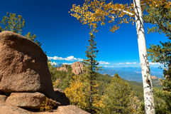 Colorado Fall. Colorado hiking in the fall Royalty Free Stock Image