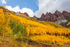 Colorado Fall Landscape Royalty Free Stock Images