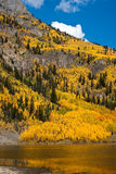 Colorado Fall Scenic Stock Photo