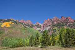 Colorado Fall Scenic Landscape Royalty Free Stock Photo