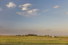Colorado farmland and prairie Royalty Free Stock Photos