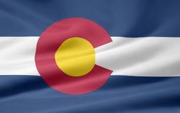colorado flagę Zdjęcia Stock