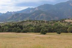 Colorado. Foot hills of the Colorado Rockies royalty free stock photography