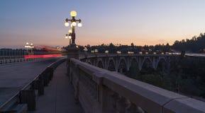 Colorado gatabro i Pasadena royaltyfri bild