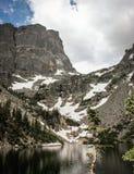 Colorado-Gebirgssee lizenzfreies stockbild