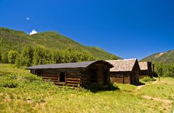 Colorado Ghost Town - 3. High noon at a deserted mining town in the mountains of Colorado royalty free stock photo