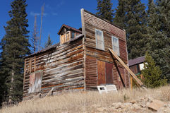 Colorado ghost town building Stock Images