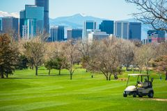 Colorado Golf Field Royalty Free Stock Photo