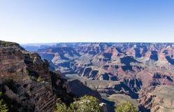 Colorado Grand Canyon, från södra kant, Arizona Fotografering för Bildbyråer