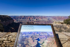 Colorado grand canyon, from south rim, Arizona Royalty Free Stock Images