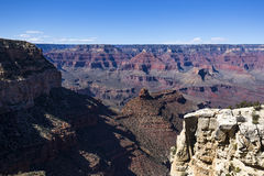 Colorado grand canyon, from south rim, Arizona Stock Photos