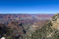 Colorado grand canyon, from south rim, Arizona Stock Image
