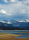 Colorado grand lake Stock Photography