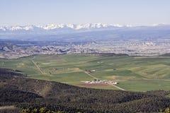 Colorado - Gunnison y Montrose Foto de archivo libre de regalías