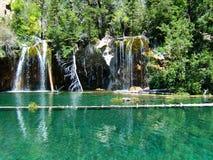 colorado hängande lake Arkivbild