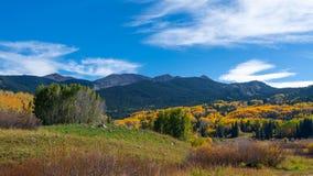 Colorado höst Arkivfoto