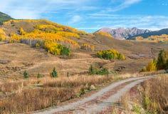 Colorado höst Arkivfoton