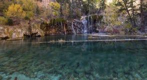 Colorado har att förbluffa det härliga landskapet, vattenfall och naturen, USA, lopp royaltyfri bild