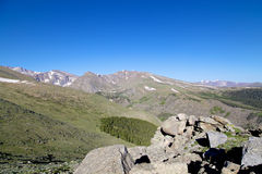 Colorado High Alpine Vista Royalty Free Stock Photo