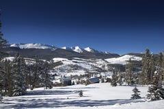 Colorado High Country. Living. Breckenridge Area in Winter, Colorado, United States. Summit County Stock Photos