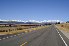 Colorado Highway Royalty Free Stock Image