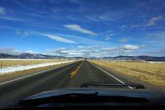 Colorado highway Royalty Free Stock Photography