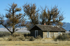 Colorado Homestead. A rural ranching homestead in the San Luis Valley region of Colorado stock photos