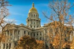 Colorado huvudbyggnad royaltyfria foton