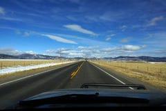 Colorado huvudväg Royaltyfri Fotografi
