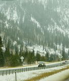 Colorado huvudväglandskap Royaltyfri Bild