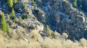 Colorado huvudväglandskap Royaltyfria Foton
