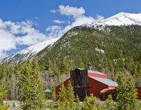Colorado hydda och berg Royaltyfri Bild