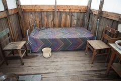 Skansen, hunter`s house/tent Colorado. Royalty Free Stock Photography