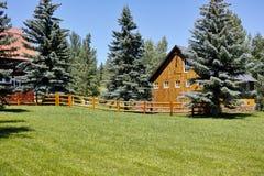 Colorado ladugård Royaltyfri Fotografi