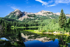 Colorado Lake and Mountains Stock Image