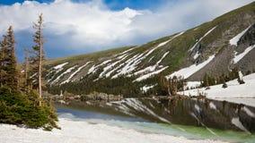 Colorado Lake Panorama Stock Image